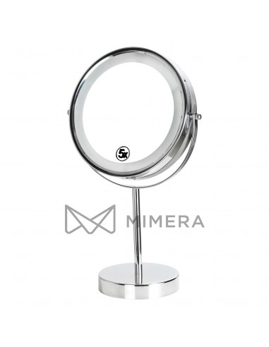 Kozmetické zrkadlo obojstranné s LED...