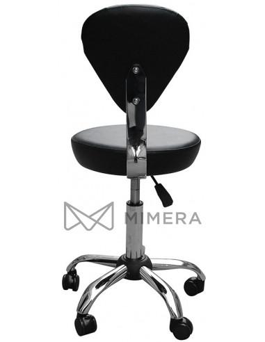 Kadernícka stolička FINN matná čierna