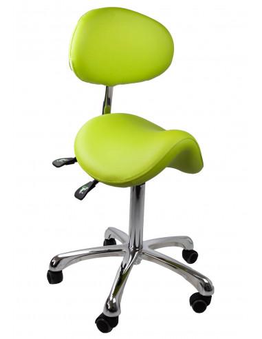 Kozmetická stolička SMART - Limetka
