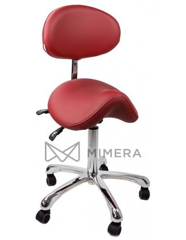 Kozmetická stolička SMART - Červená